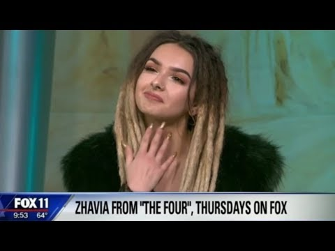 Zhavia Discusses 'The Four' and HINTS Her Next Performance In Her FIRST TV Interview | The Four