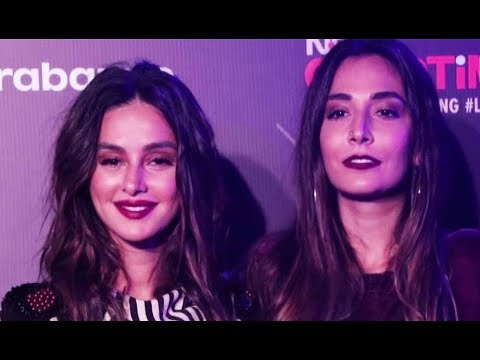 Shibani Dandekar And Monica Dogra At GQ...