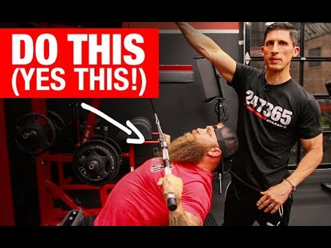 """Download Get a """"MONSTER"""" Bench Press (3 MOVES!)"""
