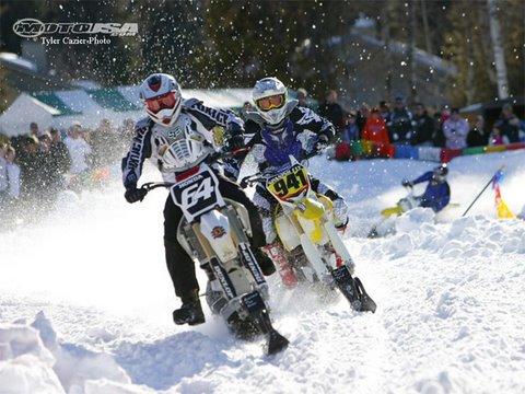 2moto Ground Zero Snow Bike Race Motousa Youtube