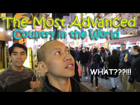 THE MOST ADVANCED COUNTRY IN THE WORLD (JAPAN) | April 12th, 2017 | Vlog #81