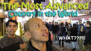 THE MOST ADVANCED COUNTRY IN THE WORLD JAPAN  April 12th 2017  Vlog 81