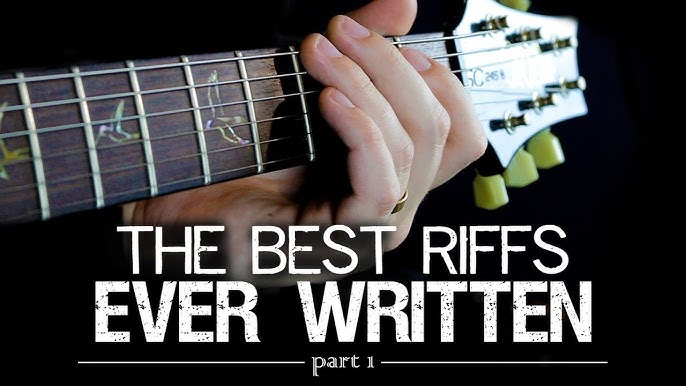 The Greatest Acoustic Intros In Rock And Metal Songs Youtube