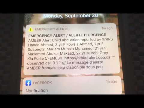 We Just Had An Amber Alert Youtube