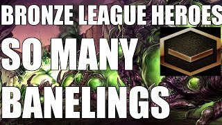 BRONZE LEAGUE HEROES #72 - SO MANY BANELINGS - tenshi vs ace