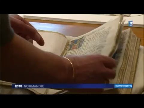 L'université de Caen - Reportage France 3 Normandie