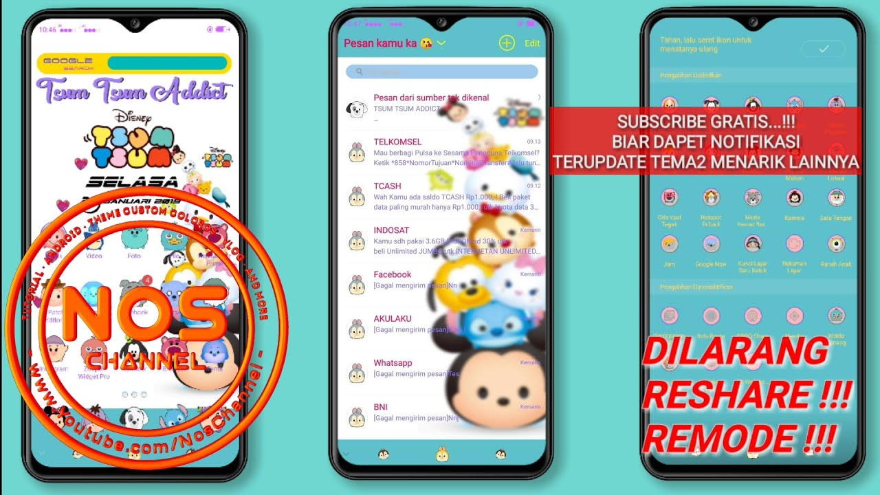 OPPO THEME FULL PACK FREE - TSUM TSUM ADDICT