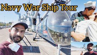 NAVY BATTLESHIP TOUR|| Battleship USS Iowa Museum||Los Angeles Tour|| Indian Navy|Happy Navy Day|USA