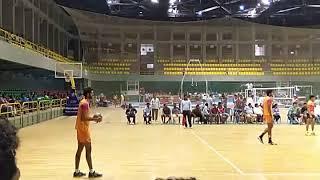 Karthik powerfull serve... Karnataka volleyball (Dasara cm cup 2018)