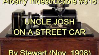 918 - UNCLE JOSH ON A STREET CAR, By Stewart (Nov. 1908)