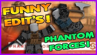 #1 FUNNY EDITS! PHANTOM FORCES   Roblox
