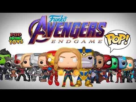 Avengers Endgame Funko Pop - Personajes Alternativos