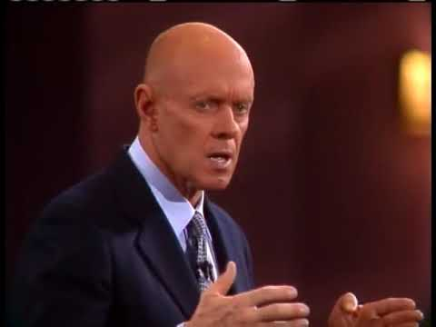 7 Habits of Highly Effective People - Habit 1 - Presented by Stephen Covey Himself