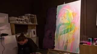 Art Tips On How To Paint On A Big Canvas By Mette Lindberg And Søstrene Grene