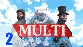 Punta de America (World War) [2] Tres Presidentes Tropico 5 Multiplayer Gameplay