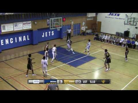 Bishop O'Dowd vs Encinal High School Boys Basketball FULL GAME LIVE 1/23/17