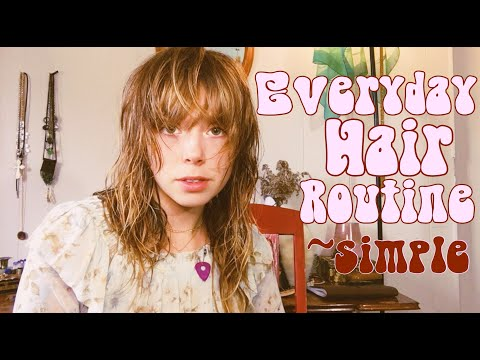 everyday-hair-routine- -tips-for-bangs