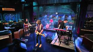 Tokyo Police Club - Wait Up (Boots of Danger) - Live on Letterman