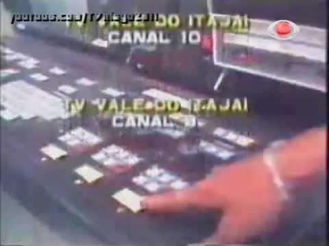Vinhetas de encerramento da TV Tupi, Globo, SBT, Band e Manchete