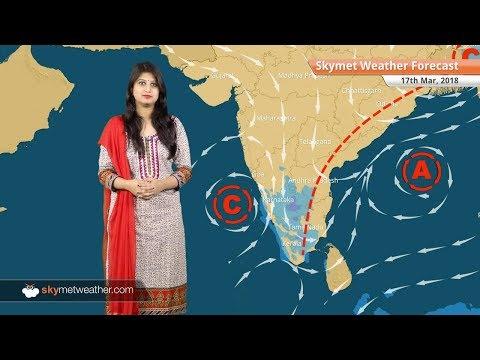 Weather Forecast for Mar 17: Rain in Chennai, Bengaluru, Kolkata; dry weather in Mumbai