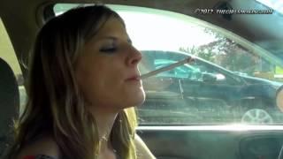 vuclip girl smoking virginia slim 120s mainly hands free - thegirlsmoking