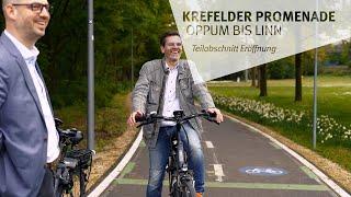 Zweiter Teilabschnitte der Promenade zwischen Oppum und Linn eröffnet (vor 4 Tagen)