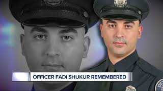 Vigil held to remember life of fallen Detroit police officer Fadi Shukur