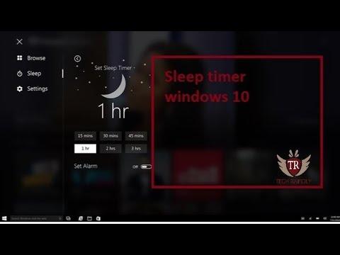 windows 10 sleep timer application