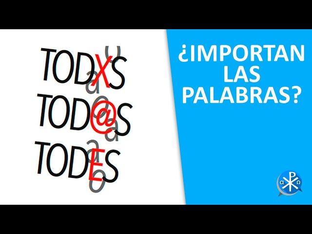 ¿Importan las palabras?   Perseverancia - P. Gustavo Lombardo