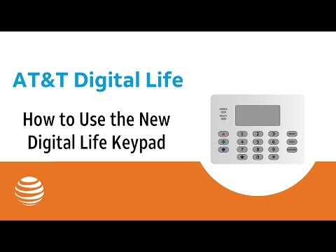 How to Use the New Digital Life Keypad | AT&T Digital Life