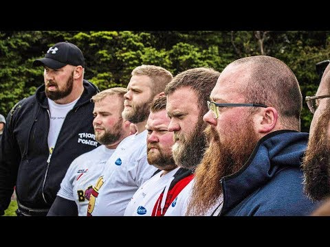 Iceland's Strongest Man 2017 ft. Hafthor Bjornsson, Ari Gunnarsson and more!