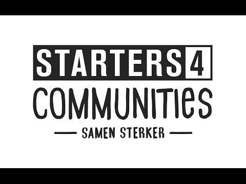 Starters4Communities Amsterdam-Oost 2017