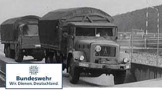 Classix: Völlig neues LKW-Fahrgefühl bei der Bundeswehr (1971) - Bundeswehr