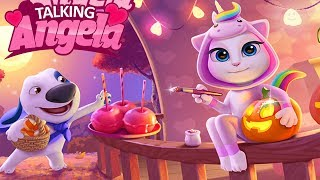 Enjoy This video! My Talking Angela Gameplay - My Talking Hank - Cu...