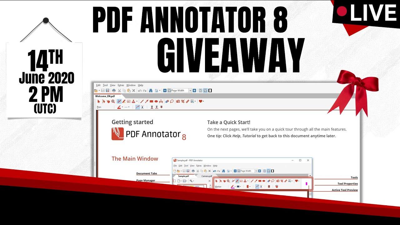 Live Pdf Annotator 8 Giveaway Youtube Conchita wurst, wiener symphoniker — where do i begin 03:23. live pdf annotator 8 giveaway