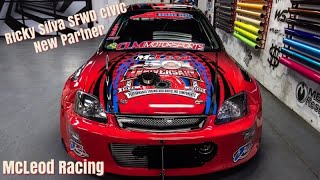 Ricky Silva SFWD Turbo Civic - Video Press Release... Partners with Mcleod Racing 2021...