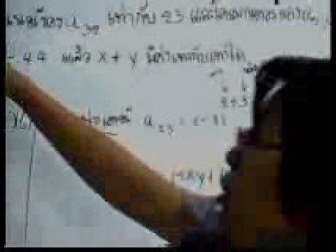 ติวโจทย์ คณิตศาสตร์ ม.6 เทอม 2