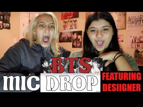 BTS(방탄소년단) 'MIC Drop (feat. Desiigner)' (Steve Aoki Remix) [lyrics] REACTION!!!