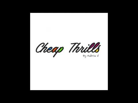 Cheap Thrills Sia (Offical Music Video) Acoustic Cover By Aubrie V