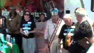 Creek Indians Mobile Museum Dedication.wmv