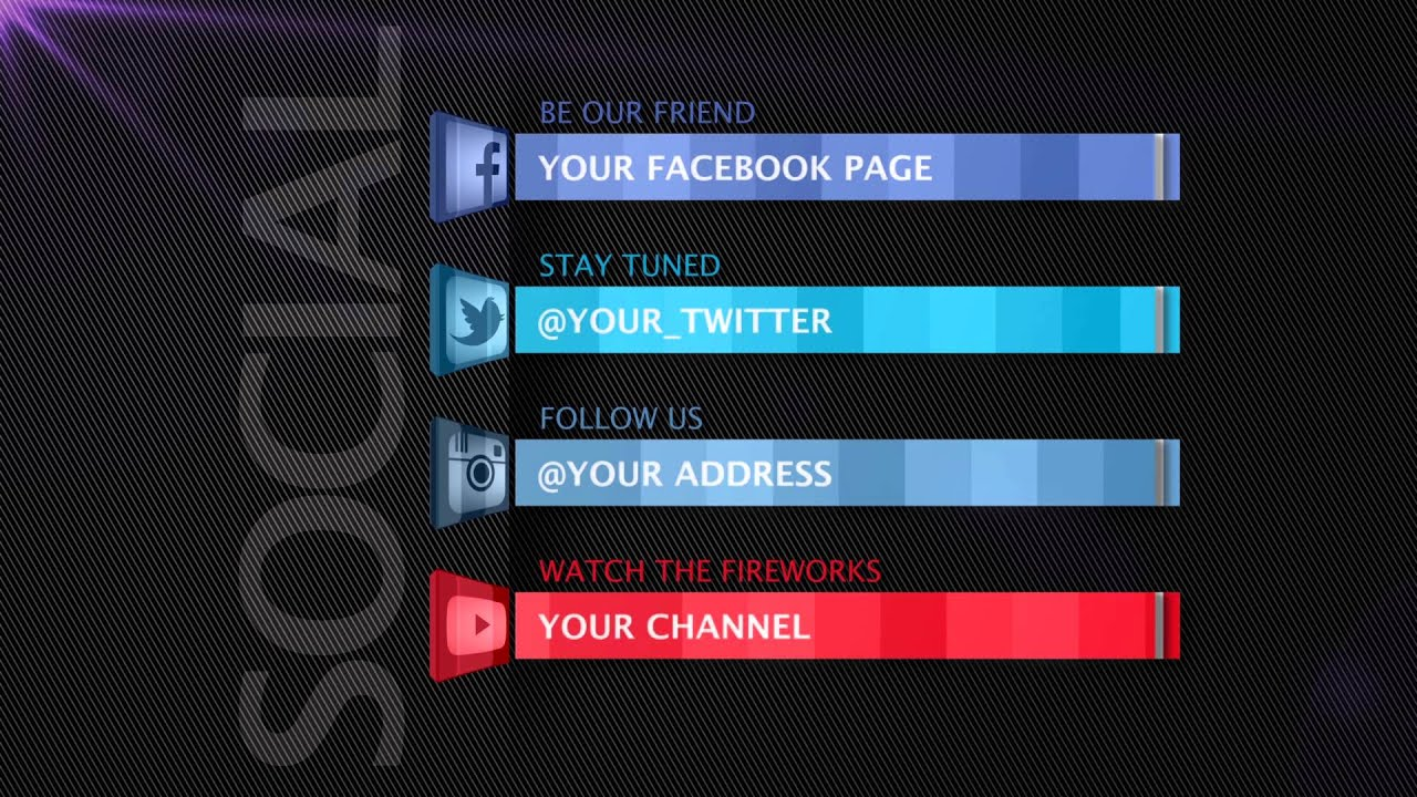 Social Media After Effects Template YouTube - Coming soon after effects template