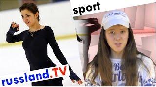 Eiskunstlauf: Jewgenia Medwedjewa backstage [ Evgenia Medvedeva ]