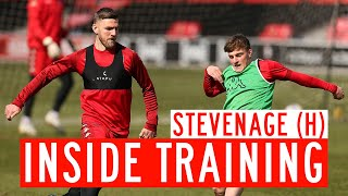 🏃‍♂️ INSIDE TRAINING | Preparing for Stevenage