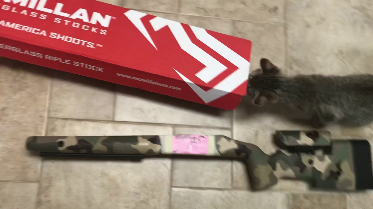 Rambo's New Rifle Stock from McMillan! ~ Rex Reviews