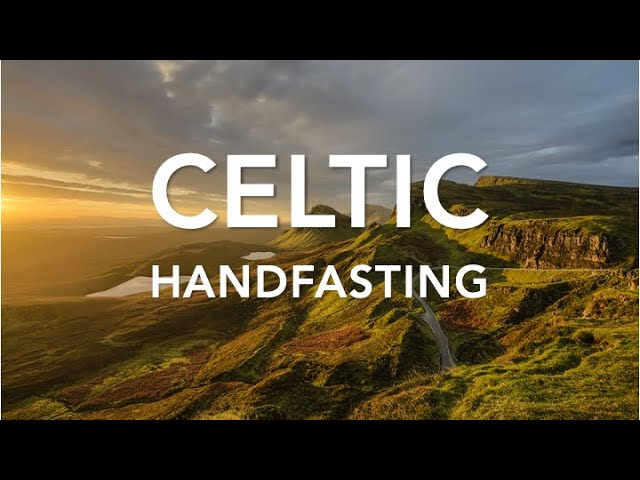 Traditional CELTIC Handfasting for your Wedding