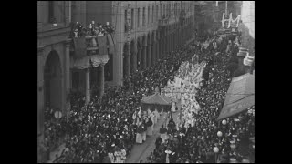 Bologna 1940: folla immensa per la processione della Madonna di San Luca