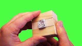 Куб из фольги Как сделать металлический куб