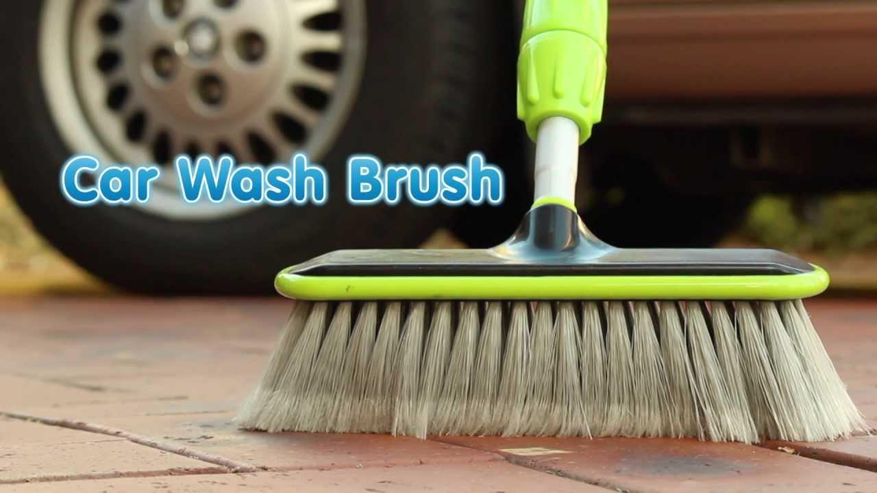 Car Wash Brush Demonstration