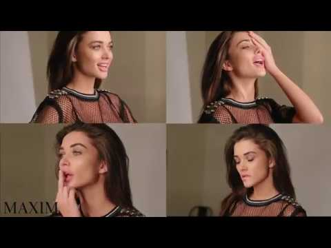 Behind The Scenes With Amy Jackson For Maxim India