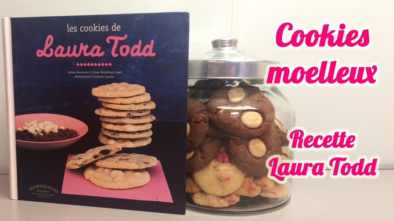 Recette cookies moelleux faciles et d licieux fa on laura todd youtube - Recette cookies laura todd ...